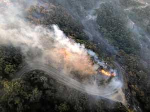 Bushfire breaks out near popular camping grounds
