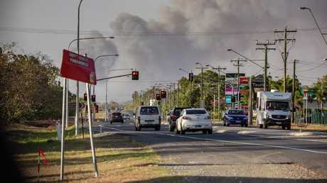 New fires breaking out north of Rockhampton
