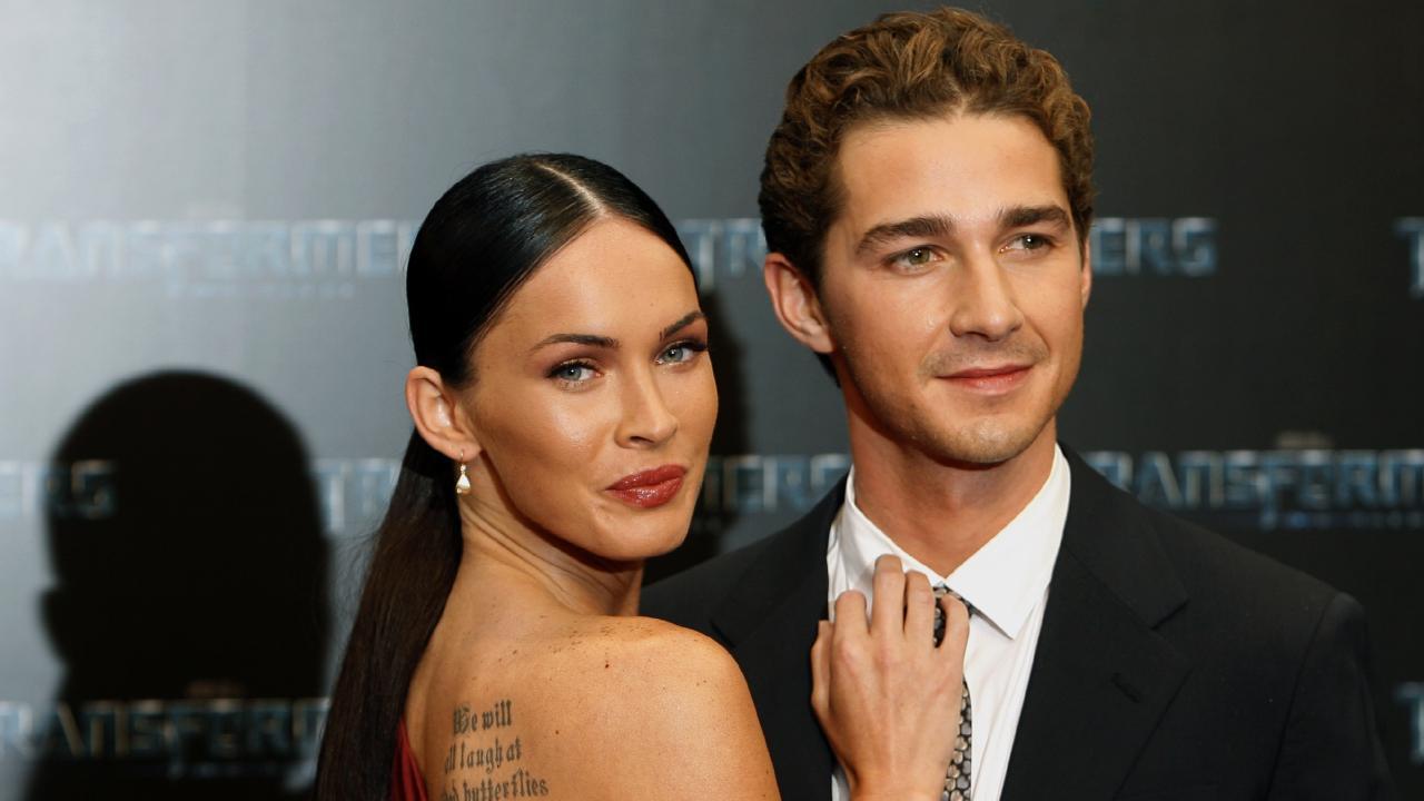 Megan Fox confirms Shia LaBeouf romance on Transformers set. Picture: AP