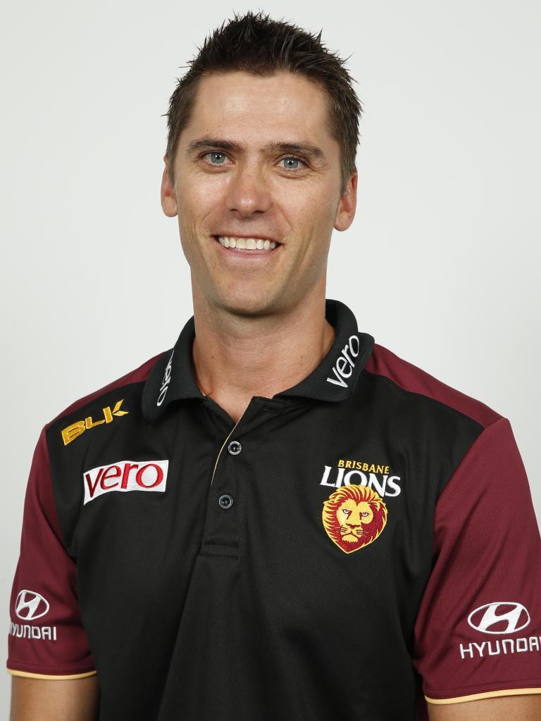 Former Brisbane Lions captain Simon Black