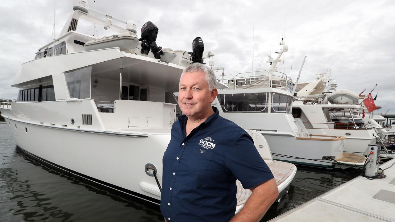 Trenton Gay, a Gold Coast marine industry expert. Picture: Richard Gosling