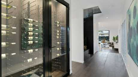 The house comes with a 200-bottle wine cellar.