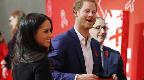 The Duke and Duchess of Sussex have been vocal supporters of initiatives that support people with HIV. Picture: Adrian Dennis — WPA Pool/Getty Images.