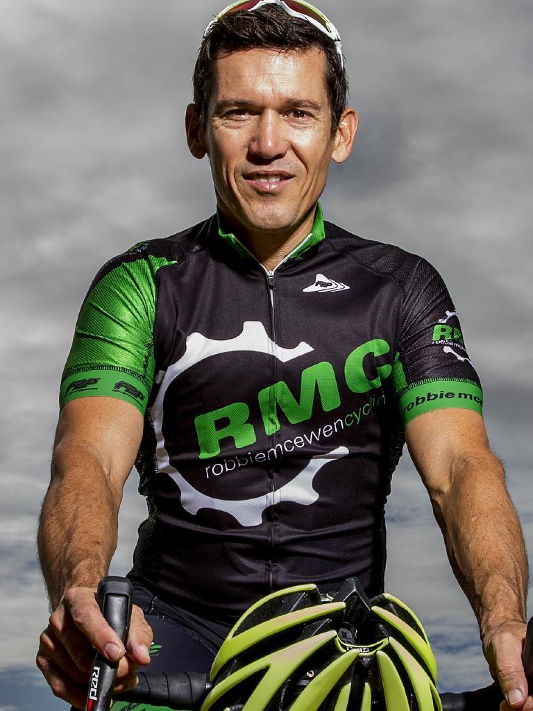 Cyclist Robbie McEwen