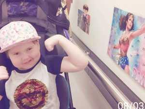 Terminally ill flower girl farewelled
