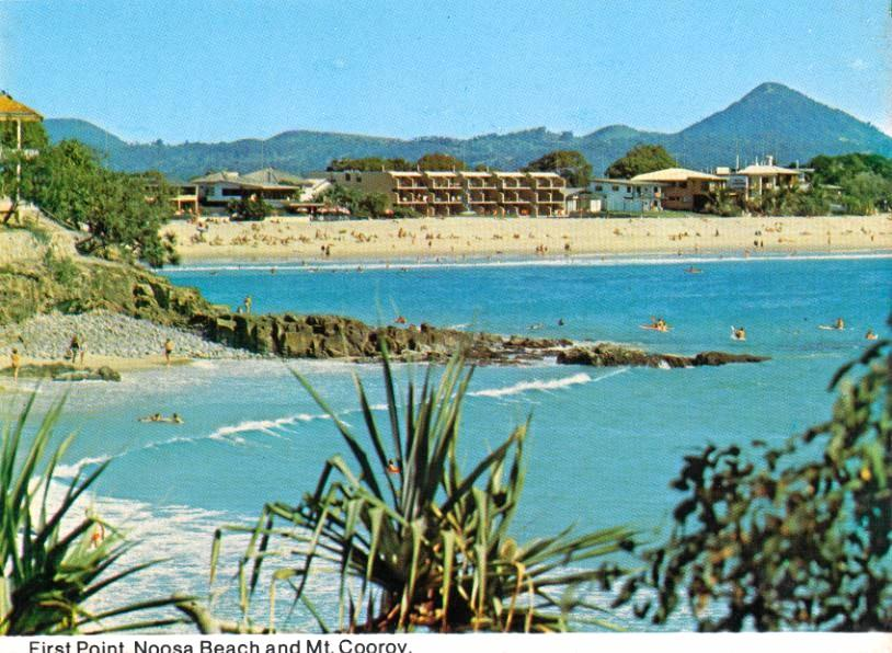 The view from First Point to Noosa Main Beach.
