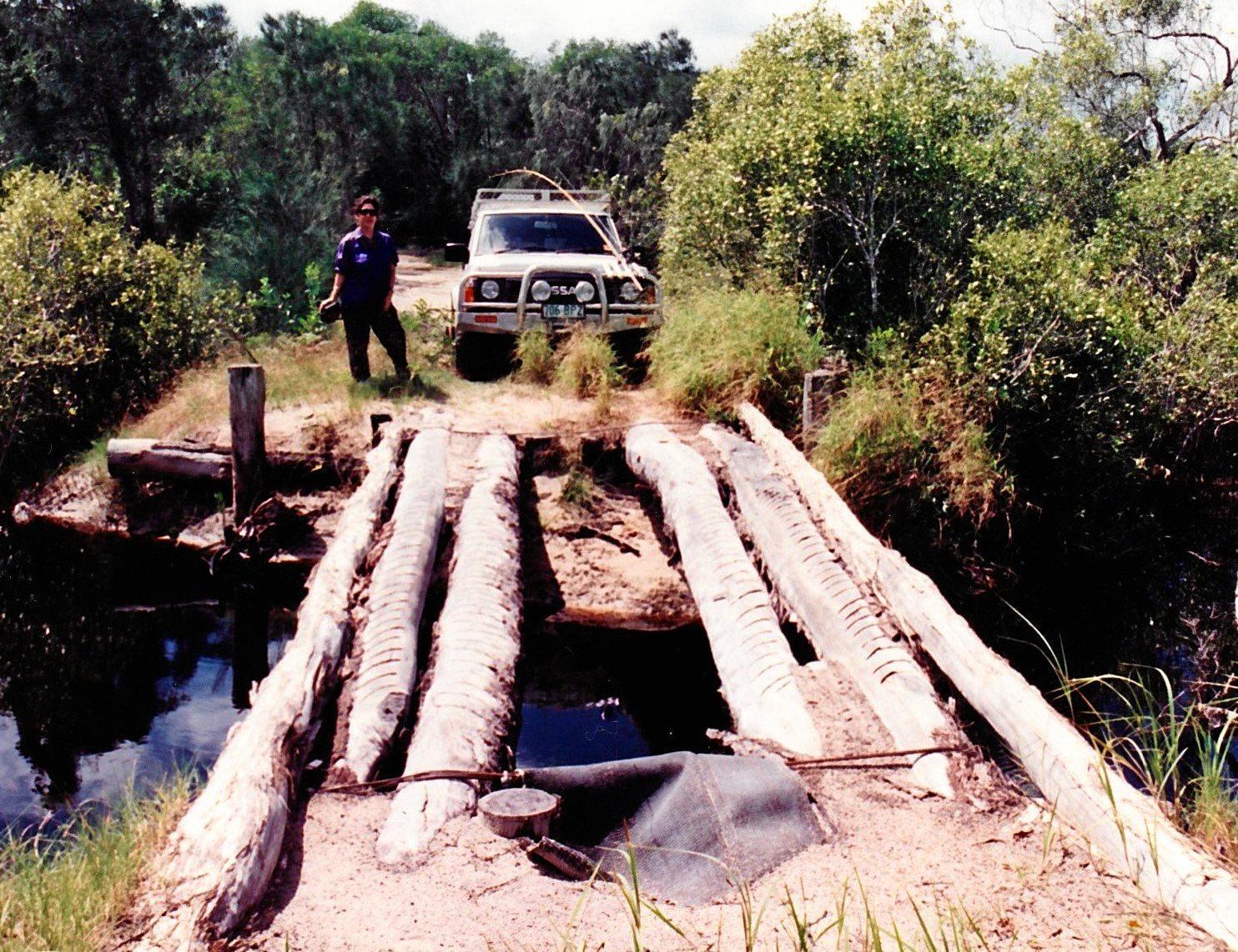 Spider Bridge, Noosa North Shore, 1996.