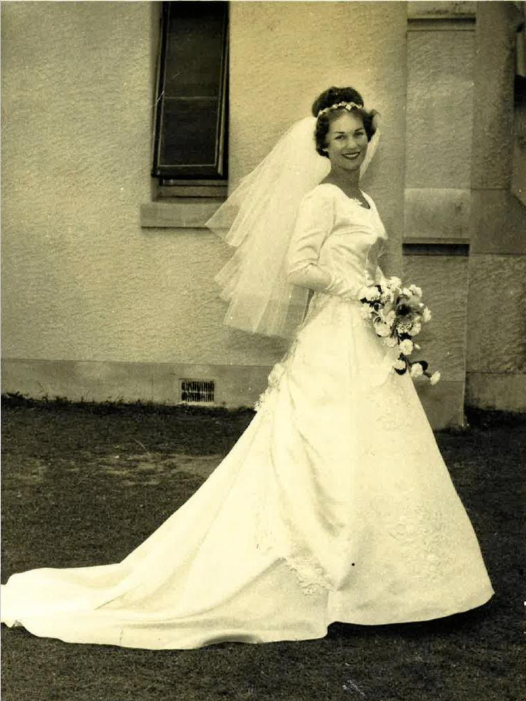 Jan Christian and her new husband Jim chose Noosa for their honeymoon in the 1960s.