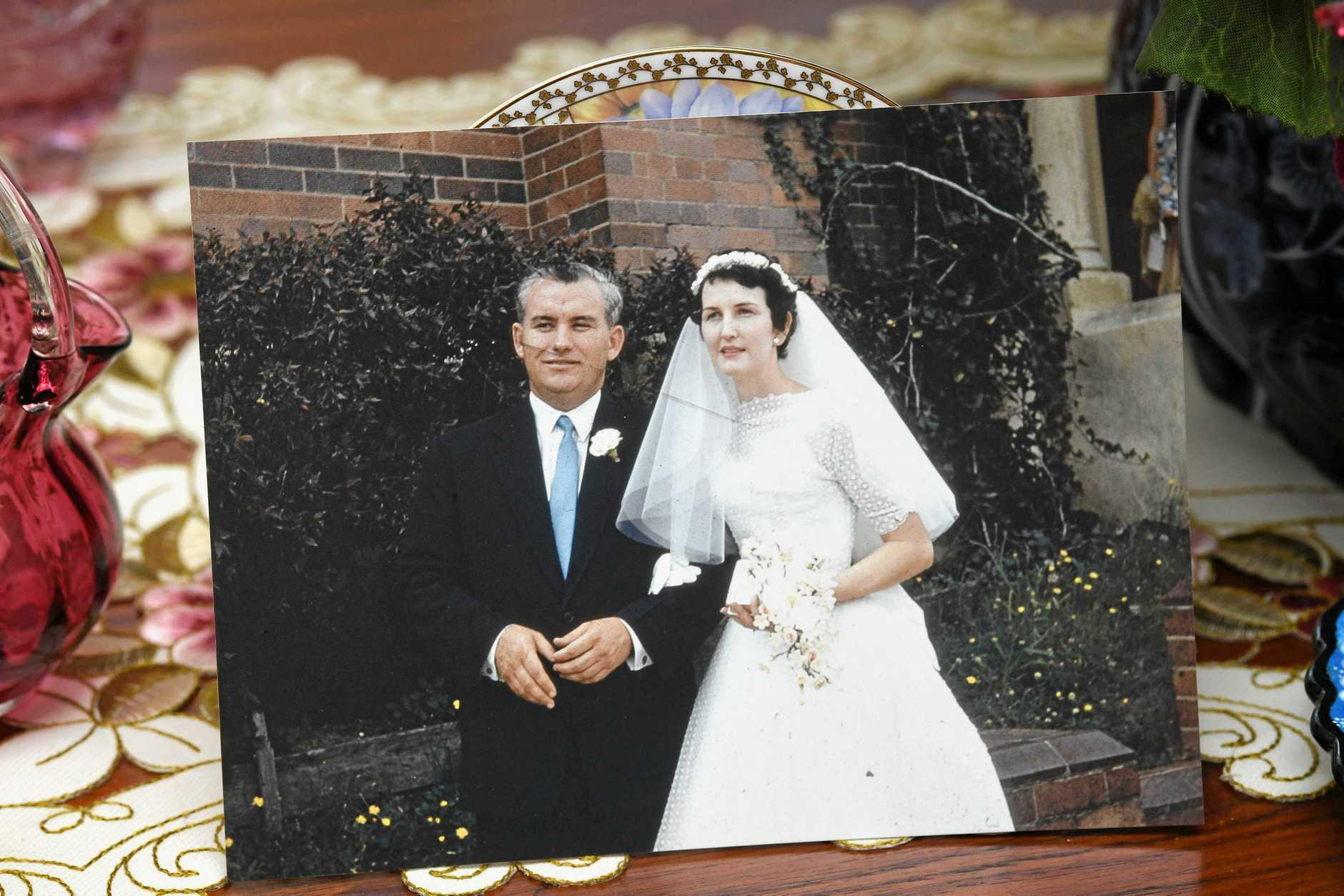 Patrick and Enid Carrol wedding photo