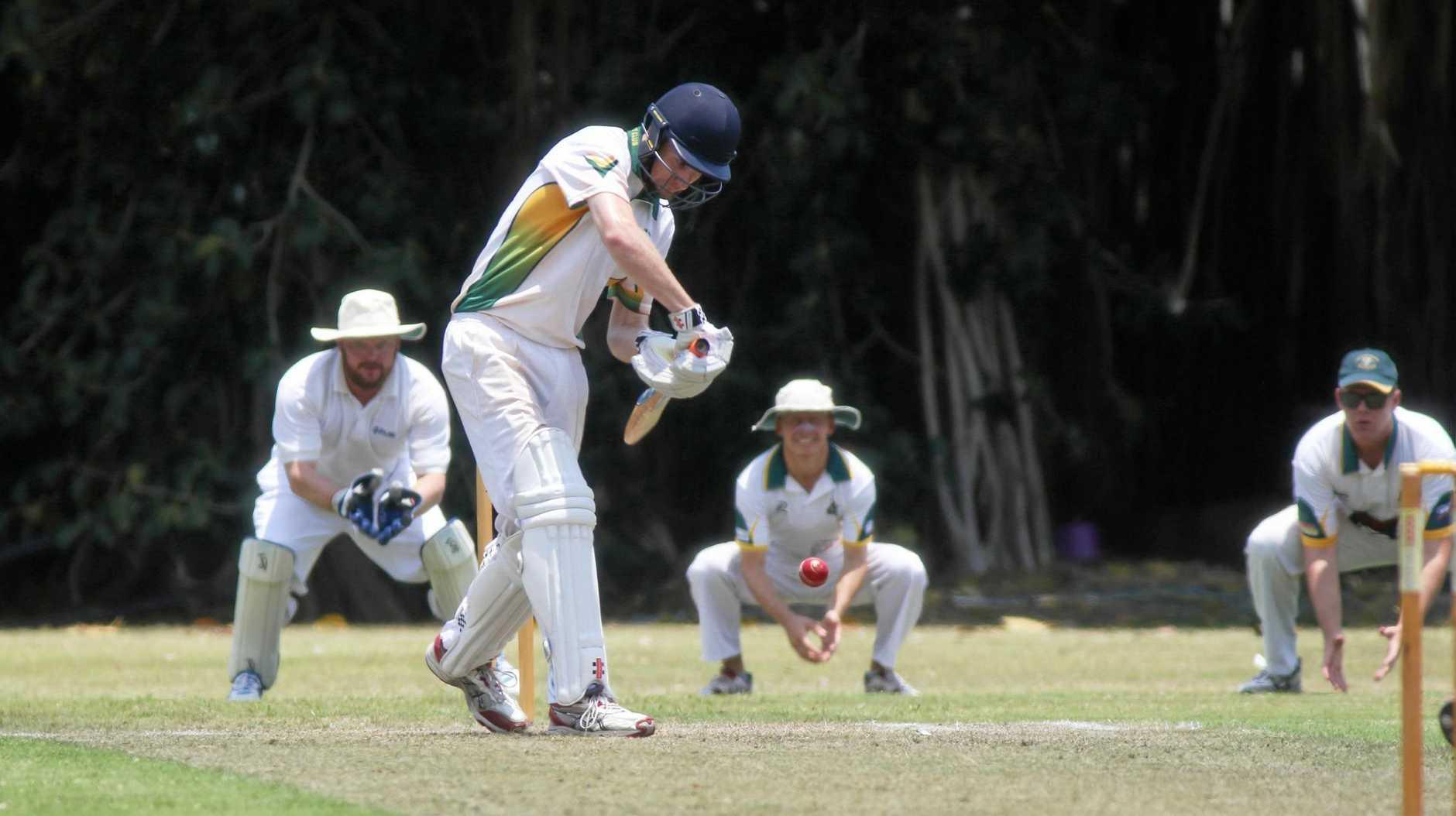 Cricket: BITS Jacob Harvey.