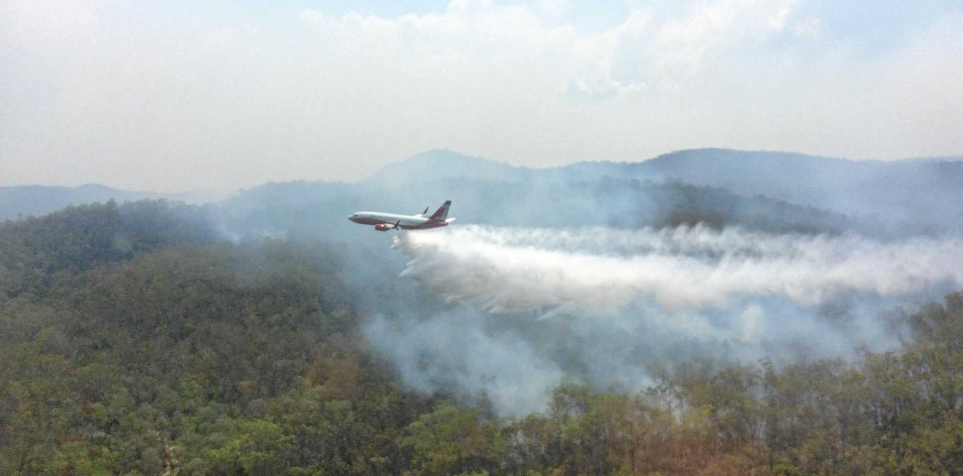 The Deepwater, Baffle Creek and Rules Beach fires are now contained.