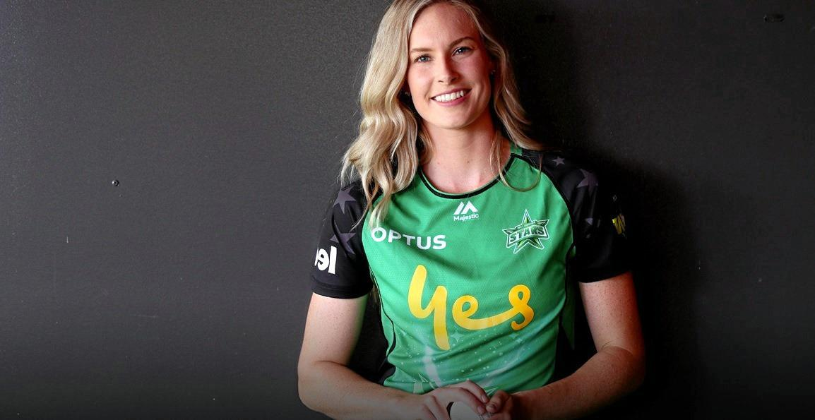 STAR: Holly Ferling claimed her first wicket for the Melbourne Stars.