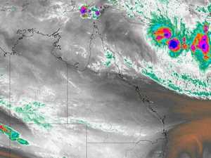 Tropical Cyclone Owen develops in Coral Sea