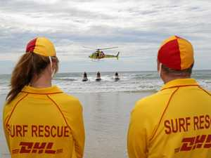 Woman caught in rip at Yeppoon beach