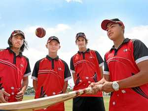 Wide Bay teens to take on state's best cricketers