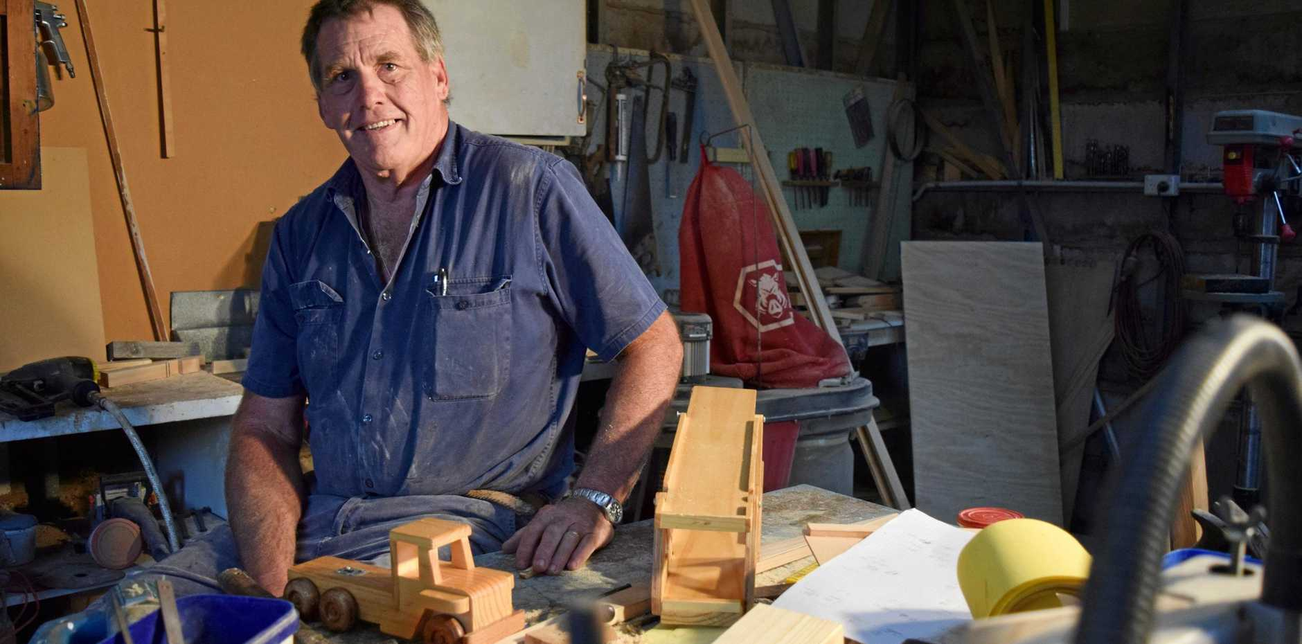 For craftsman Chris Guymer, there is something timeless about wooden toys.