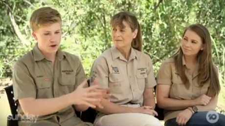 The Irwins speak about their life at Australia Zoo without Steve. Picture: Supplied