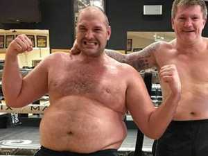 Depression, drug abuse at 180kg: Fury's transformation