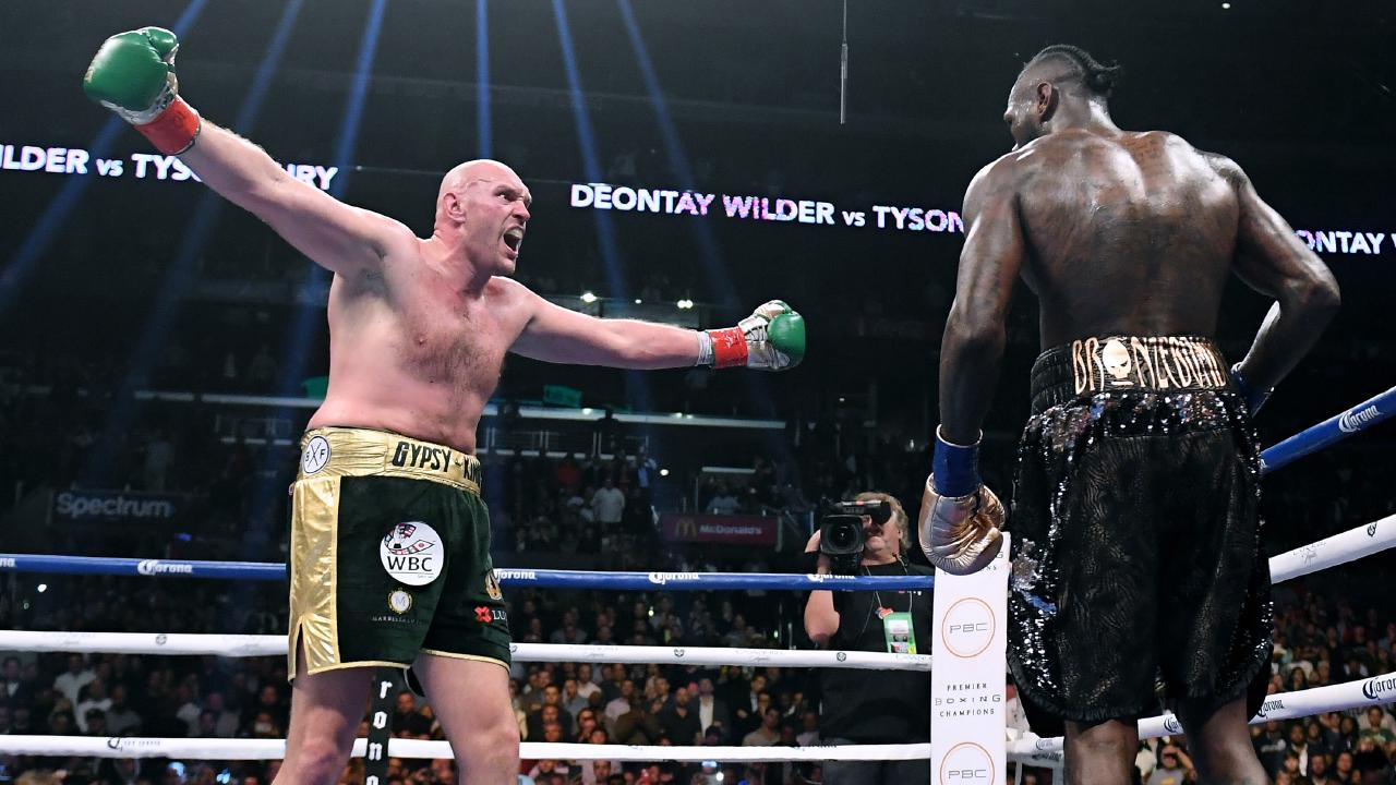 Fury dominated much of the fight. Photo by Harry How/Getty Images.