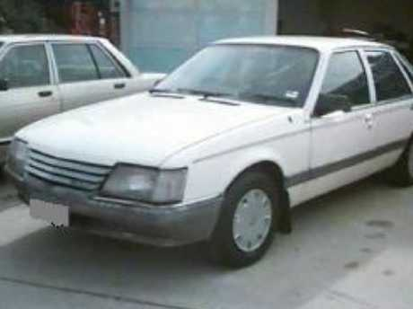 Police were looking for a white Holden Commodore smilar to this. Picture: NSW Police Media