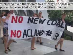 New Acland mine protesters sentenced