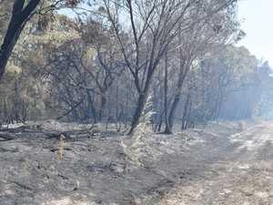 UPDATE: Sixth day of Tinnanbar bushfire