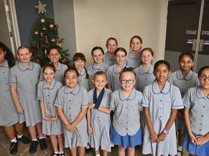 Good Shepherd Catholic Primary School students sang