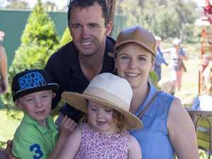 Christmas Tree harvest Visitors from Toowoomba