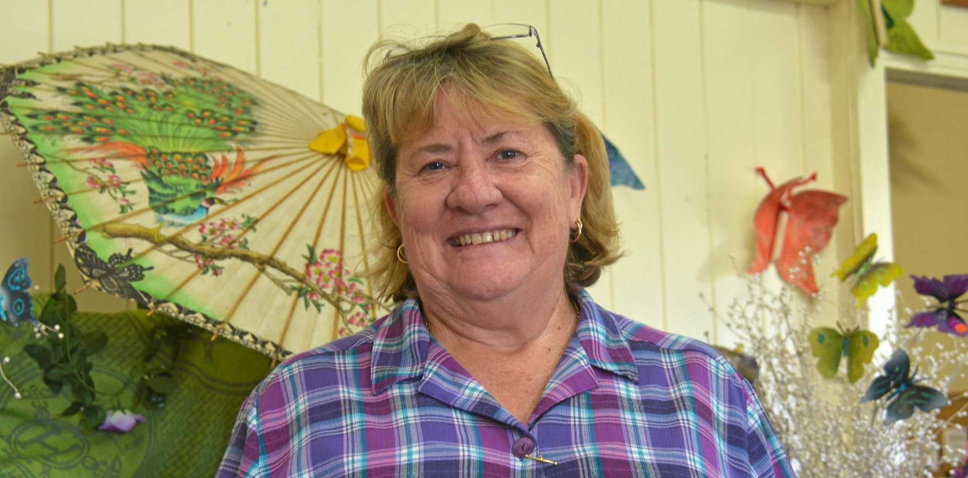 Boots'n Bulldust CEO Sandy Towell is a big advocate for young people and mental health, directing support to those who need it, at Creative Connections in Nanango.