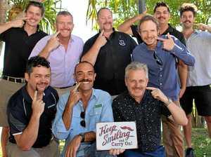 Noosa Mo Bros mighty moustache effort