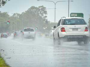 Gladstone's crazy weather to ease with temperature drop: BoM