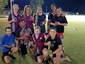 Juniors prove their worth in Mundubbera Touch final