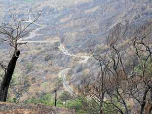 Rain could spell disaster for fire-ravaged region