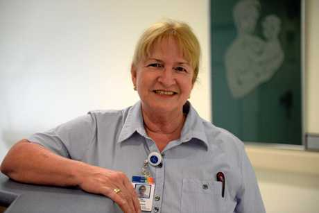 FACES OF BUNDY: Clinical midwife Faye Schmeider. Photo: Mike Knott / NewsMail