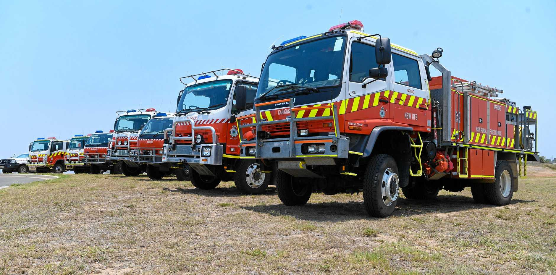 An alleged licence breach by mining companies could result in a new vehicle for the Rural Fire Service.