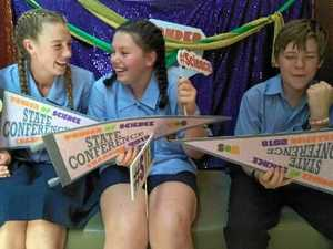 Bright students top comp