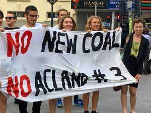 Coal protest: $550k compo bid up in smoke