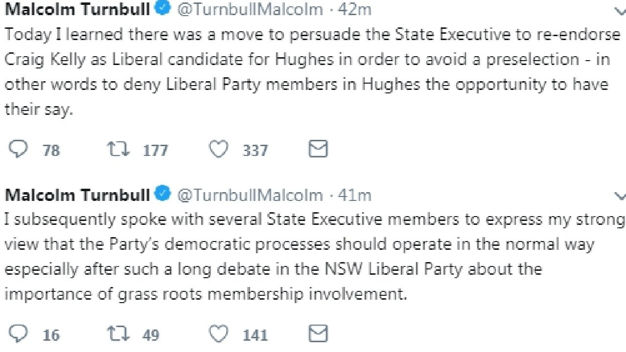 More of Turnbull's tweets.
