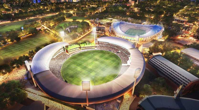 An artist's impression of what the stadium may look like.