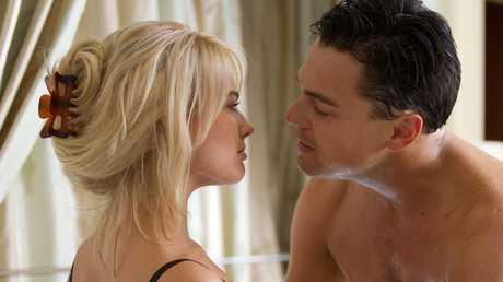 Robbie starred opposite Leonardo DiCaprio.
