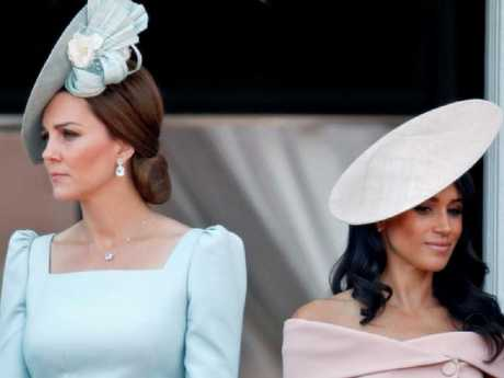 Tension...Kate Middleton and Meghan Markle