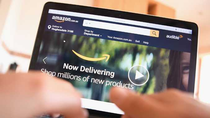 Amazon Australia will celebrate its first anniversary this week, but a new PayPal study shows local businesses are no longer concerned about its impact. Picture: Quinn Rooney/Getty Images