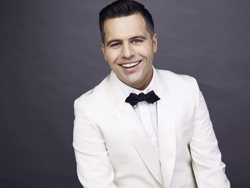 Mark Vincent is competing for a chance to sing at Eurovision. Picture: Supplied.