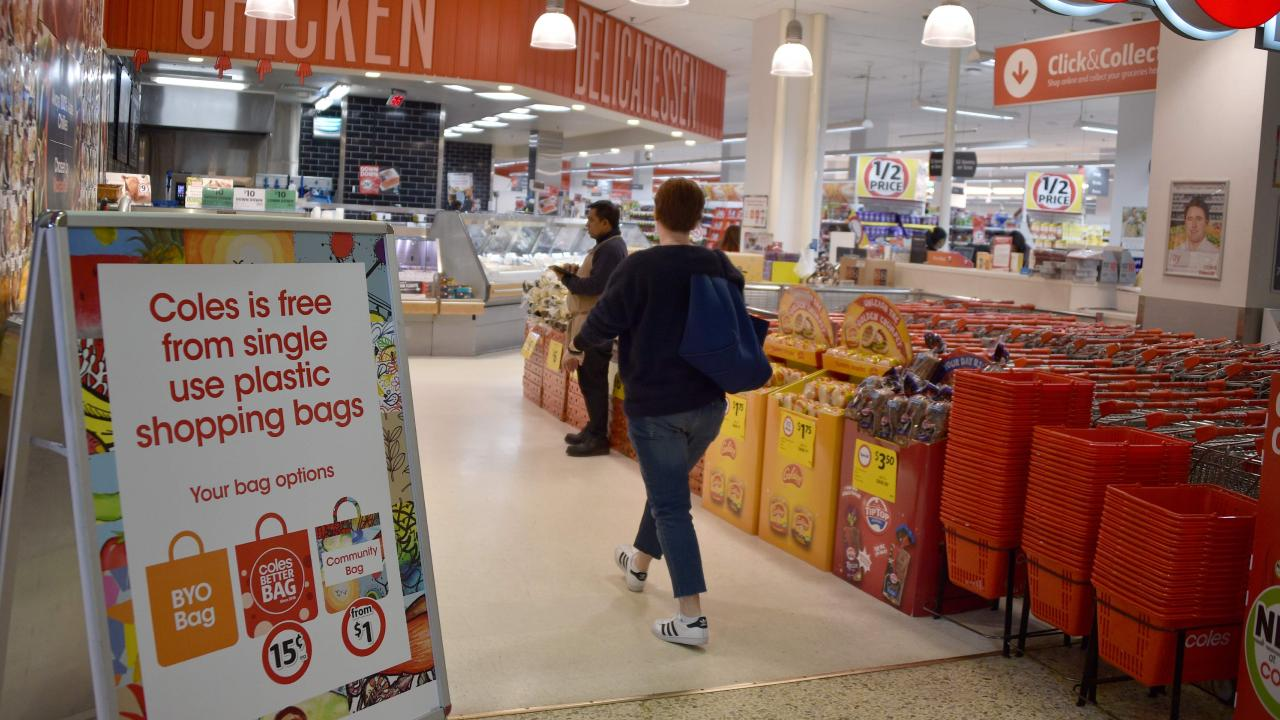 Supermarkets in Vic, NSW, Qld and WA introduced single-use plastic bans in 2018.