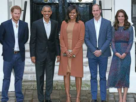 The Obama's have met the royals several times.
