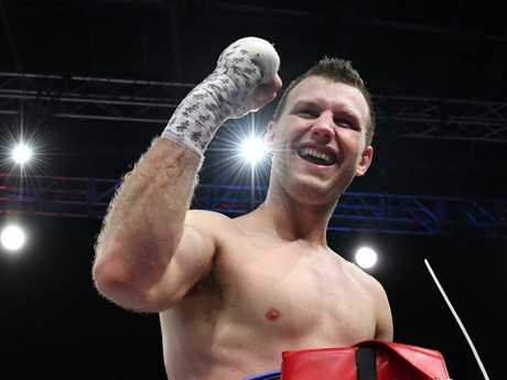 Jeff Horn has a lot of responsibility on his shoulders.