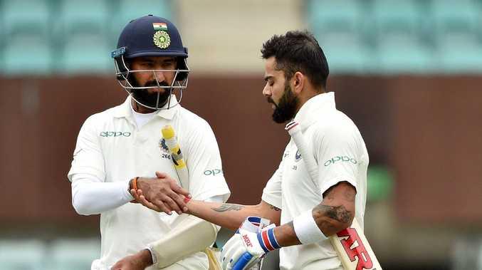 Cheteshwar Pujara and Virat Kohli have dominated day two.