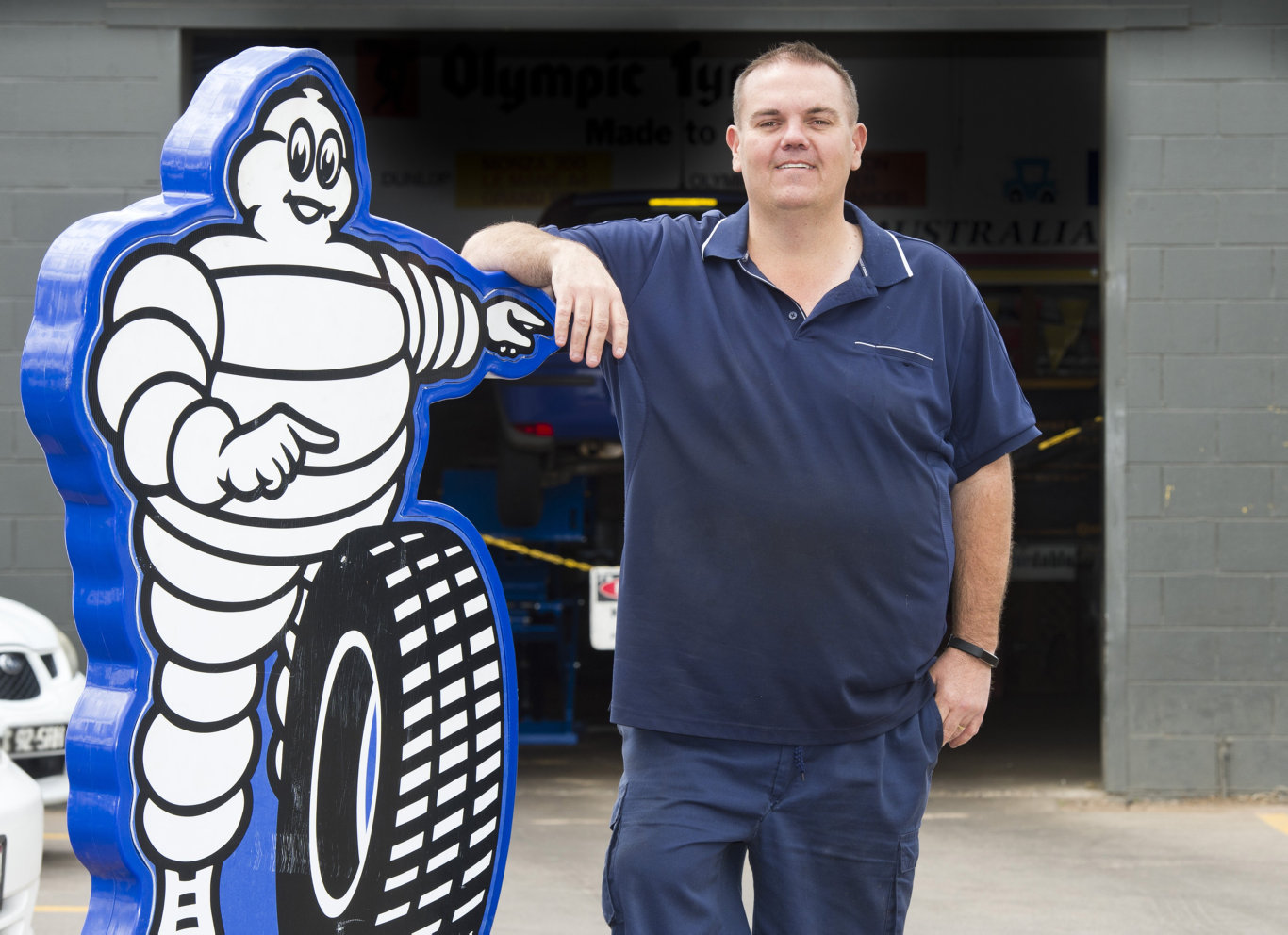 Local tyre retailer Chris Liebke has undergone a surgical weight-loss procedure and is feeling more active. Wednesday, 26th Sep, 2018.