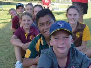 WINNERS ARE GRINNERS: U12 mixed touch team, the Hawks