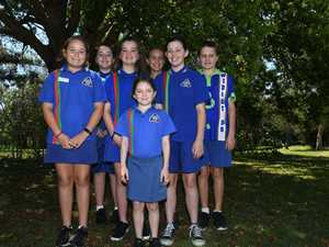 WIDGEE STATE SCHOOL: (Back from left) Zara Tomkins